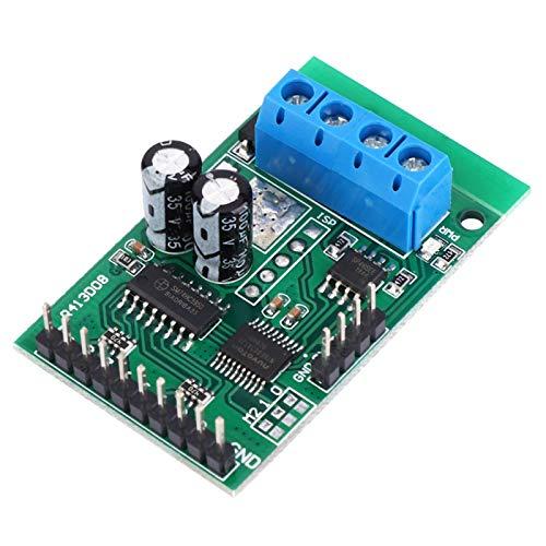 RS485 RTU Módulo de relé de control Placa de interruptor de relé PLC AT Placa de PLC de relé Dos modos de control resistentes, para accesorios industriales Modbus