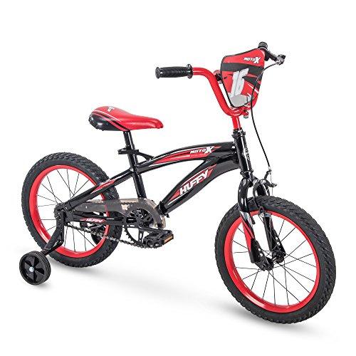 Huffy 16' MotoX Boys Bike, Gloss Black