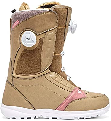 DC Lotus BOA Snowboard Boots Womens Sz 7 Kelp