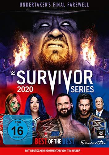 WWE - Survivor Series 2020 (2 DVDs)