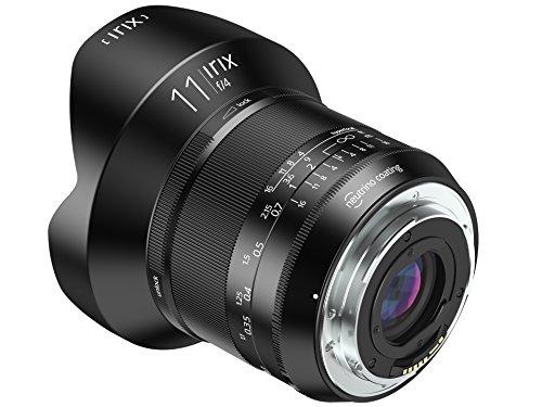 Irix IL-11BS-NF Ultraweitwinkelobjektiv Blackstone 11mm f4 für Nikon F (Vollformat, leuchtende Beschriftung, optimierter Fokusring) schwarz