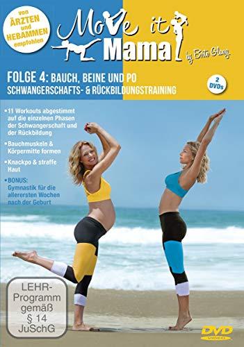 Move it Mama -Schwangerschafts- & Rückbildungstraining Folge 4: Bauch, Beine und Po [2 DVDs]