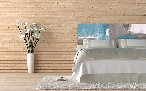 Cabecero Cama PVC Pintura Geométrica | Varias Medidas 200x60cm | Fácil colocación | Decoración Habitación | Motivos paisajisticos | Naturaleza | Urbes | Multicolor | Diseño Profesional