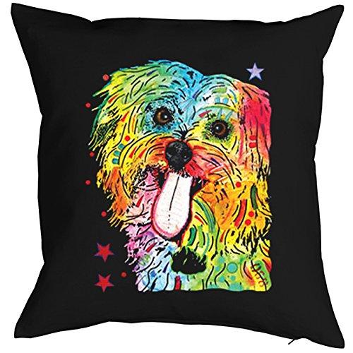 Shih Tzu Pillow, oreiller, almohada, Cuscino Pop Art Style
