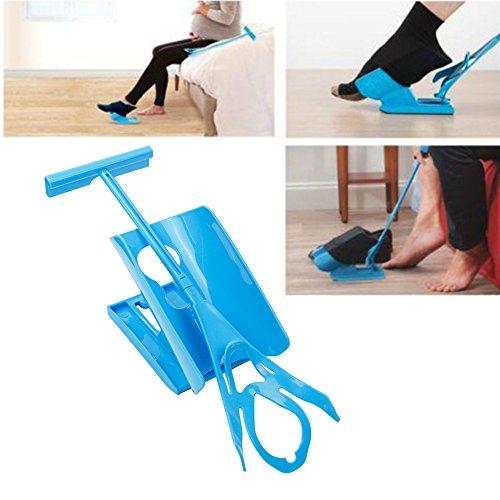 Sock Aid Original An- und Ausziehhilfe für Socken, Mobilitäts-Set
