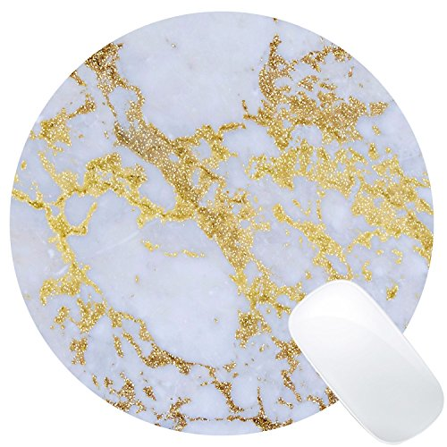 Wknoon Awesome trendy modern marble Mouse Pad Round Mat Photo #1