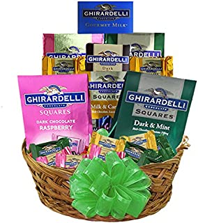 Grand Ghirardelli Chocolate Gift Basket A Beautiful Array Of Sweets s