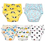 Cotton Training Pants for Boys and Girls,Toddler Boys Girls Potty Training Underwear 5