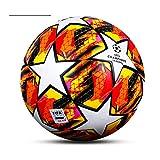 Champions League Football Fan memorabilia calcio amante regalo regolare n. 5 palla PU materiale regalo di compleanno ragazzo