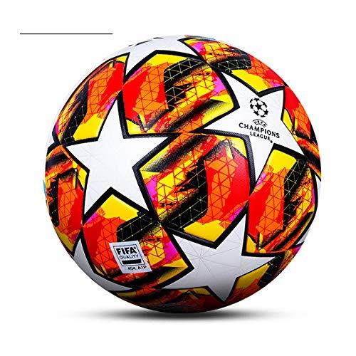 Champions League Fußball-Fans Fanartikel, Fußball-Liebhaber-Geschenk, reguläre Nr. 5 Ball, PU-Material, Geburtstagsgeschenk für Jungen