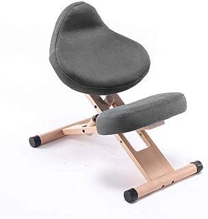 YUTRD ZCJUX La Manera Simple aumentó la versión Moderna de Madera Maciza ergonómico sin corrección de la Postura sentada r...