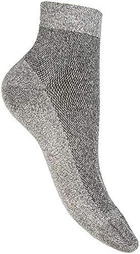 Be Soft damen Socken tinta unita antracite