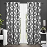 Exclusive Home Curtains Ironwork Sateen Woven...