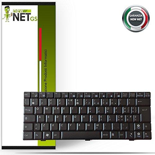 newnet Tastiera Compatibile ASUS EEE Pc Layout Italiano Colore Nero 904HD 904HG 1000 1000H 1000HA
