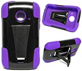 TSTAND Purple Phone Case Cover for ZTE Zinger/Prelude 2 / Salem / Z667T Z667G Z667