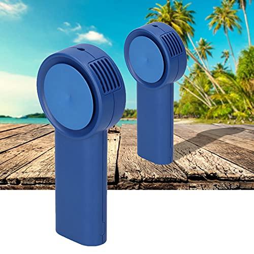 01 Ventilador de Bolsillo pequeño, Ventilador de Mano USB para Exteriores para Interiores para Verano