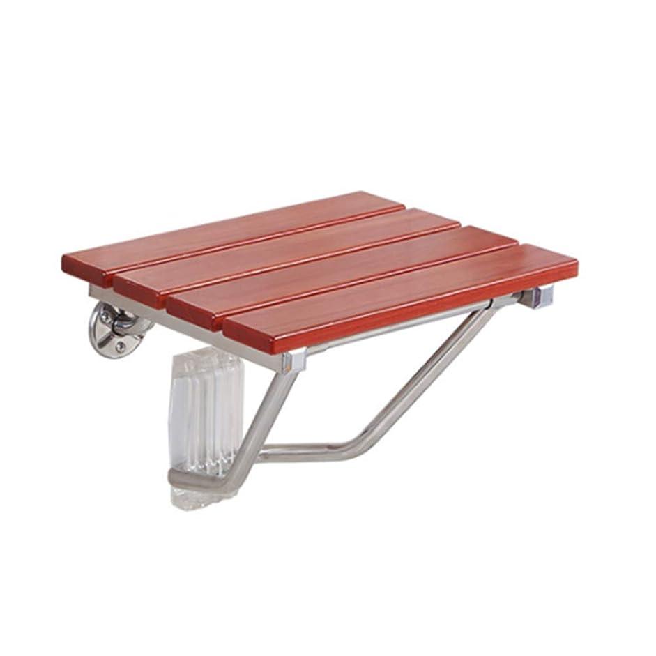 延ばすボトル私壁に取り付けられた木製の折るシャワーの腰掛けの座席、浴室の浴槽の安全腰掛けは椅子のベンチを折りたたみます、500ポンドのサポート脚荷重で