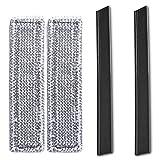 MLXG - Goma de microfibra para labios de limpieza de ventanas Karcher WV2 WV5 2.633-130.0
