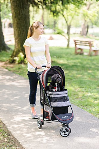 Gen7 Regal Plus Pet Stroller for Dogs and Cats – Lightweight, Compact and Portable with Durable Wheels 3