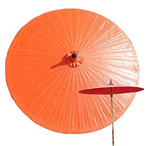 LCYXM Sombrilla De Jardín De Bambú De 2M,Sombrilla De Patio A Prueba De Lluvia,Anti-Ultravioleta, Sombrilla De Playa Al Aire Libre, Productos Hechos A Mano,Sombrilla Decorativa De Lona-36 Costillas
