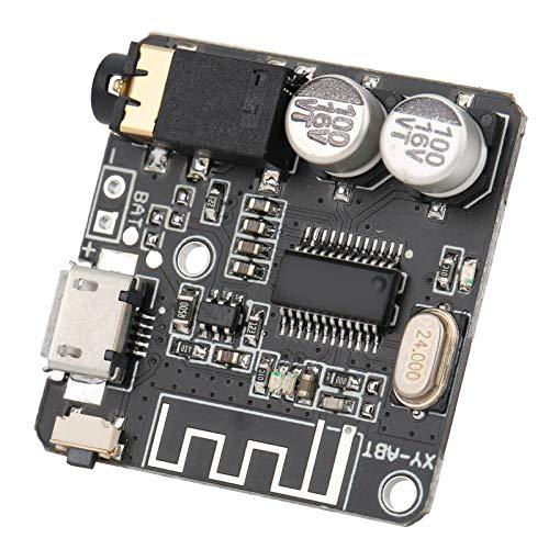 Ricevitore Audio, Modulo Ricevitore Audio, Scheda Modulo Ricevitore Audio Stereo Fai-da-te per Bluetooth 5.0, con Sistema Stabile, Prestazioni Stabili ed Eccellenti, Comodo da Usare