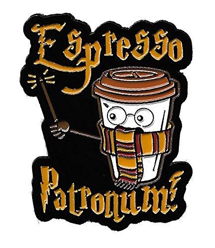 Espresso Patronum! Adorable Enamel Lapel Pin for Coffee Lovers