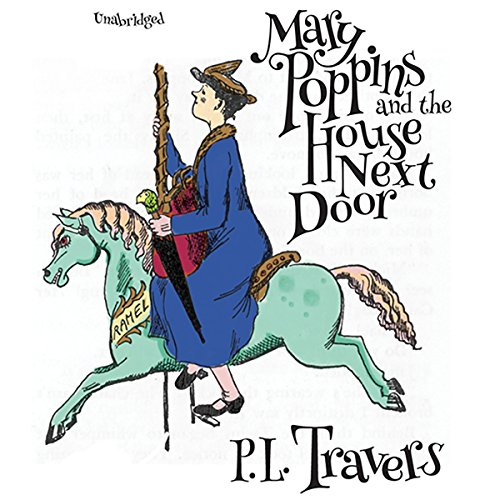 Mary Poppins and the House Next Door audiobook cover art