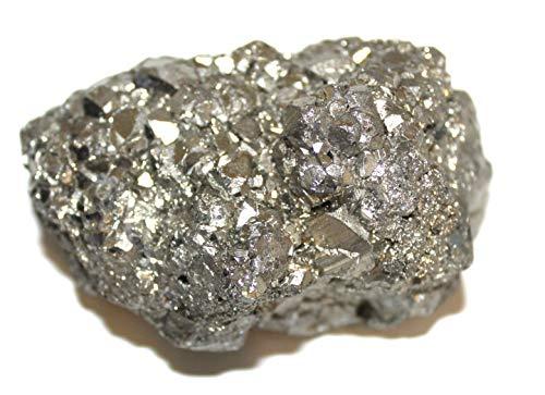 Unbearbeiteter Pyrite Chispas Stein von Peru 3 cm, Der Natürlich ist - Für die Sammler