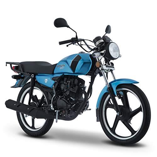 Motocicleta Italika de Trabajo- Modelo DT125 Sport Azul