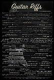 REINDERS Gitarre - riffs - Poster 61 x 91,5 cm