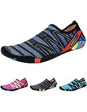 Qimaoo buty do wody, męskie i damskie buty do kąpieli, buty do pływania, szybkoschnące, oddychające, antypoślizgowe buty do wody