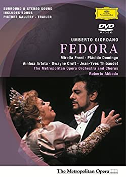 Giordano - Fedora / Freni Domingo Croft Arteta Thibaudet Abbado Metropolitan Opera