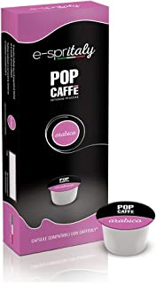 POP CAFFE' 100Cápsulas e-spritaly compatibli Caffitaly Mezcla 3Arabico