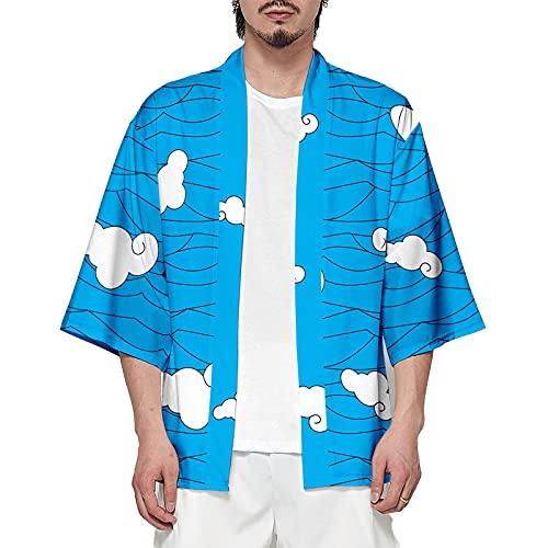 KELEBUE Demon Slayer, Cloud Grain, Ropa, cárdigans, Pijamas, Vestidos, Camisas, Camisetas, Cosplay, Amantes del Anime, japonés, Accesorios de Anime, Regalos