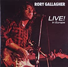 Live! In Europe (Jewel Case) By Rory Gallagher (Performer) (2014-12-10)