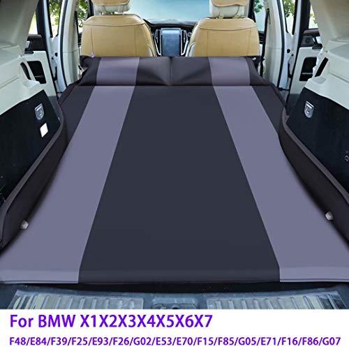 QCWY Geeignet für BMW X1X2X3X4X5X6X7 verdickte Upgrade Auto Luftmatratze Auto Kofferraum Aufblasbares Bett kann in Reisecamping verwendet Werden, Pongee