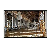 DuanWu Hall of Mirrors In The Palace of Versailles Canvas