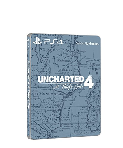 Uncharted 4: A Thief's End - Limited Steelbook Edition - [PlayStation 4]