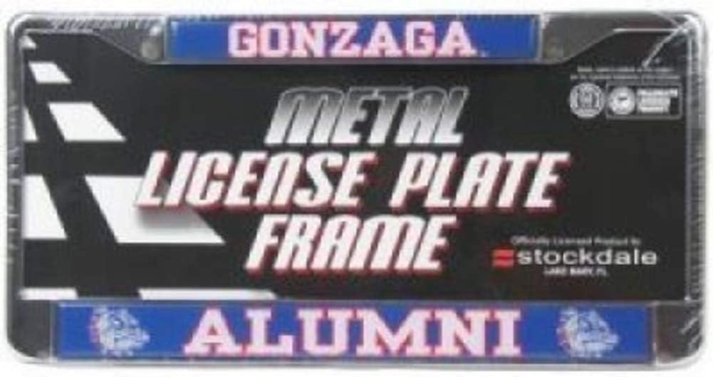 Stockdale Gonzaga Bulldogs Alumni Metal W Frame Max 41% OFF Plate License Do Special Campaign
