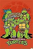 TMNT - Pizza Poster Drucken (55,88 x 86,36 cm)
