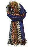 Sciarpa Missoni Stola Fantasia Made in Italy Donna 40X200 Cm multicolore MU6796-0001