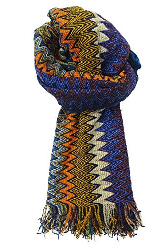 Missoni Stola Fantasie sjaal Made in Italy dames 40X200 cm meerkleurig MU6796-0001