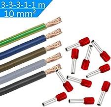 1/fil /électrique en cuivre longueur 1,5//2,5//4//6//10/mm2/230/V marron
