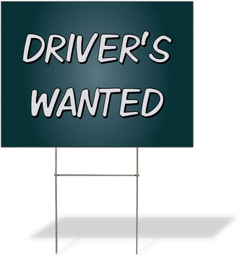 Fastasticdeals 67% OFF of fixed price Max 64% OFF Weatherproof Yard Sign Driver's Auto V Car Wanted