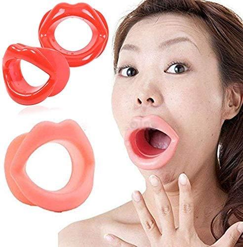 Nouveau style silicone doux facial anti-âge anti-rides, entraîneur sportif pour le visage pour les femmes (2 pièces)