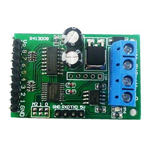 Ohomr El Interruptor de relé del módulo de Control Módulo de relé de 8 Canales de relé Junta RS485 Modbus Ttl Rtu DC 6-24V Controlador Junta