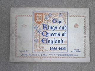 players cigarette cards kings and queens of england