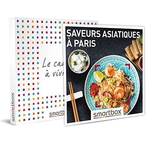 Smartbox - Coffret Cadeau Couple - Saveurs asiatiques à Paris - idée Cadeau - 1 dîner Asiatique pour 2 Personnes