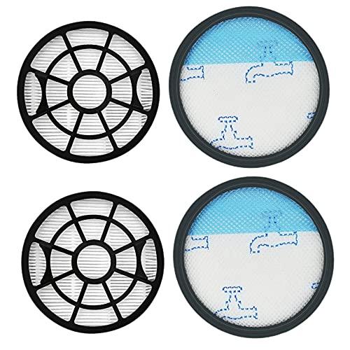 Notewisher 4 Piezas de Repuesto para Aspiradoras ROWENTA ZR904301 de Prefiltros y Posfiltros Lavables para Limpieza del Hogar