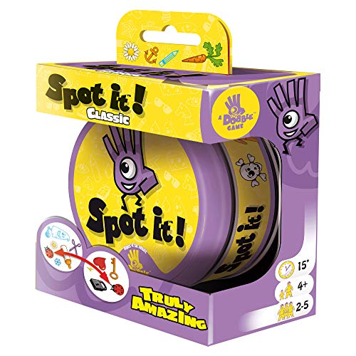 Spot It Classic Mini Card Game | Game For Kids | Age 6 | 2 to 8 Players | Average Playtime 10 minutes| Made by Zygomatic